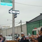 "Controversy Over ""Heaven"" Street Sign"