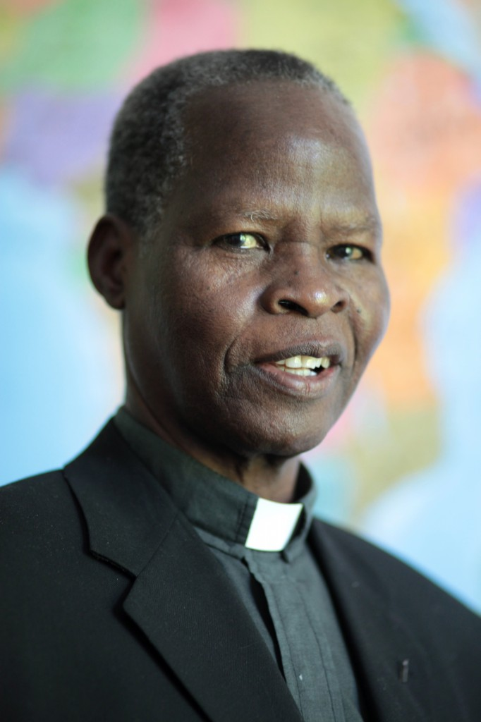 Bishop Matthias Ssekamanya of Lugazi, Uganda