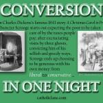 Ebenezer Scrooge: Christmas Eve Conversion