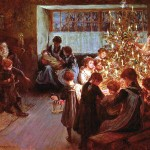 The Christmas Tree, 1911, Albert Chevallier Tayler