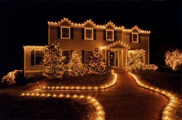 Christmas lights on house catholic lane - Christmas lights house ideas ...