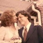 Bill and Hillary Clinton, October 11, 1975