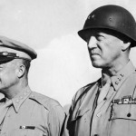 Gen. Dwight D. Eisenhower and Lt. Gen. George S. Patton