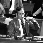 Future U.S. president George H.W. Bush in 1971, at the start of his U.N. ambassadorship.