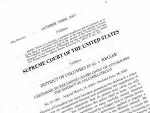 Supreme Court Decision, DC vs. Heller