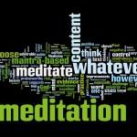Mindfullness Based Meditation Wordle