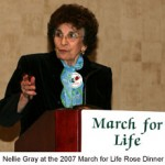 U.S. March for Life Founder Nellie Gray Passes Away