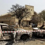 Nigeria: St Theresa Church after it was struck by two car bombs on December 25, 2011