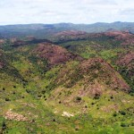 Nuba Mountains in South Kurdufan, Sudan. The Comprehensive Peace Agreement did not give the people of Nuba Mountains the right to join independent Southern Sudan