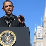 Obama Disney Castle