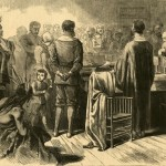 Thanksgiving Day Among the Puritan Fathers in New England, Harper's Weekly, December 3, 1870