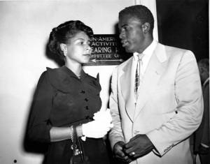 Rachel & Jackie Robinson