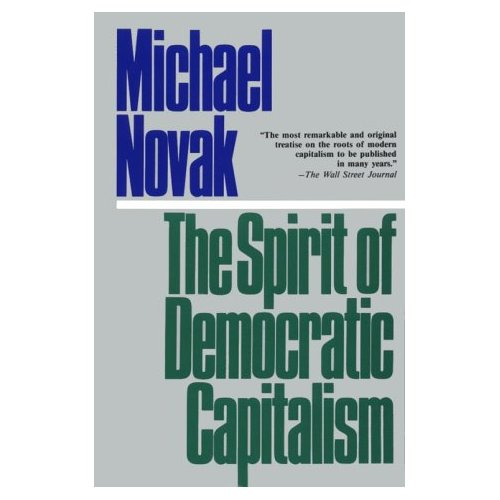 Spirit of Democratic Capitalism bookcover
