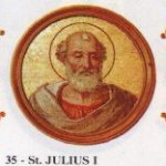 St. Julius, Pope