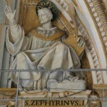 St. Zephyrinus, Pope and Martyr