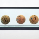 """Three Ball Total Equilibrium Tank"" by Jeff Koons (1985)"