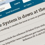 The Trainwreck: Obamacare System Down