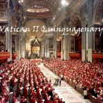 Nave of St. Peter's Basilica During a General Session of Vatican II