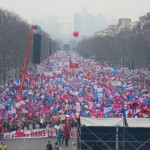 A pro-marriage rally in France in March.