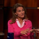 Melinda Gates on the Stephen Colbert Show