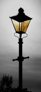 Lamp on Post