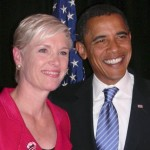 President Obama and Planned Parenthood President Cecile Richards